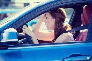 upset driver